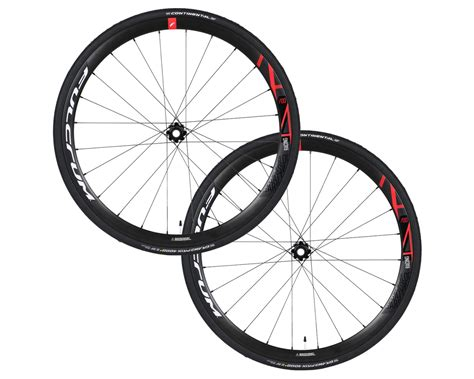 Fulcrum Racing 400 Disc Wheelset With Continental GP4000S