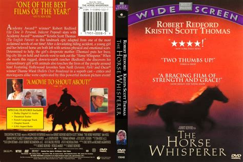 The Horse Whisperer - Movie DVD Scanned Covers