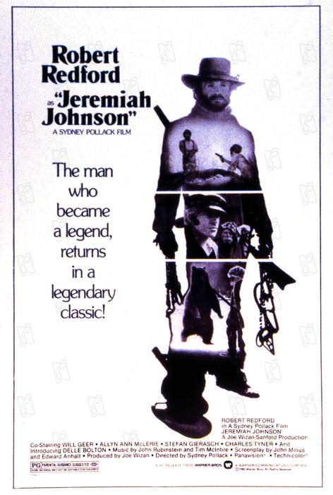 Jeremiah Johnson - film 1972 - AlloCiné