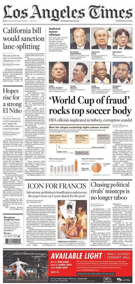 The best newspaper front pages hammering FIFA from around