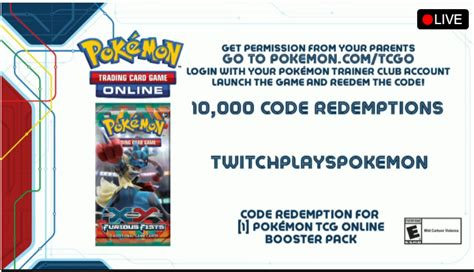 Twitch Plays Pokemon is a code for free cards in the