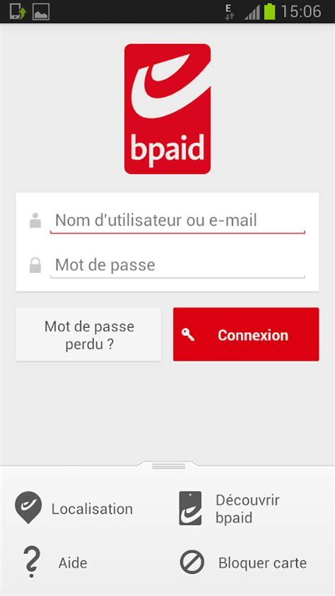 bpaid – Applications Android sur Google Play