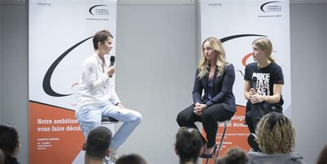 Students meet Professionals: Star athletes as