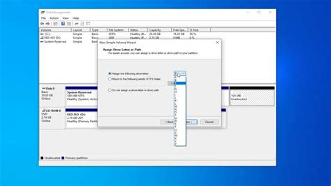 How To Create A New Hard Drive Partition In Windows 10