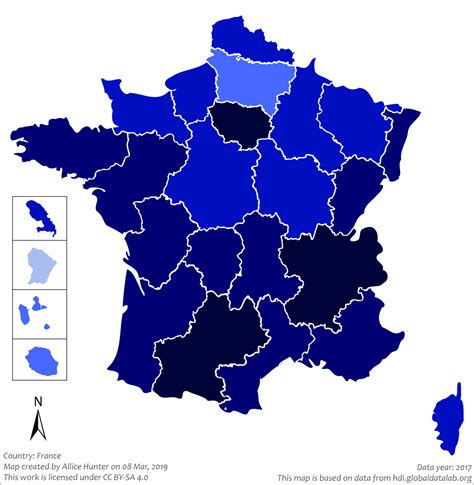 List of French regions by Human Development Index - Wikipedia