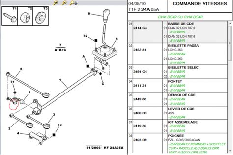 cable d embrayage 206 s16
