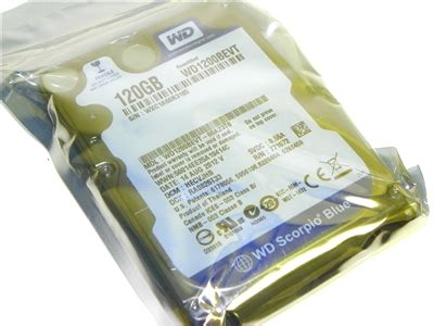Western Digital 120GB WD1200BEVT-00A23T0 Factory