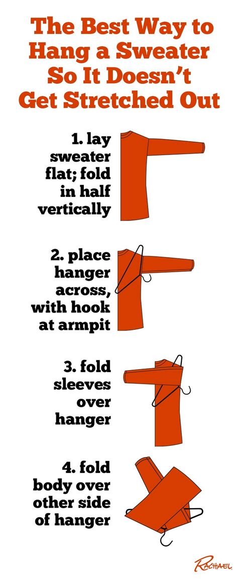 The Best Way to Hang a Sweater So It Doesn't Get Stretched Out