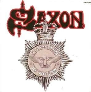 Saxon: Strong Arm Of The Law - CD (1997, Re-Release