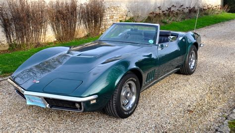 Voiture de collection Chevrolet Corvette 1968 à vendre