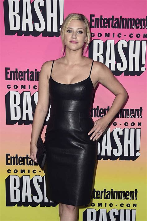 Lili Reinhart attends Entertainment Weekly's Comic-Con