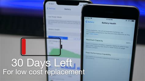 Low iPhone Battery Health? - Get Your Battery Replaced