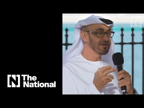 HH Sheikh Mohammed Ben Zayed Al Nahyan on Official Working