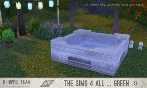 K Outdoor New Wood Hot Tubs 2x7 sets 1 & 2 at K-hippie