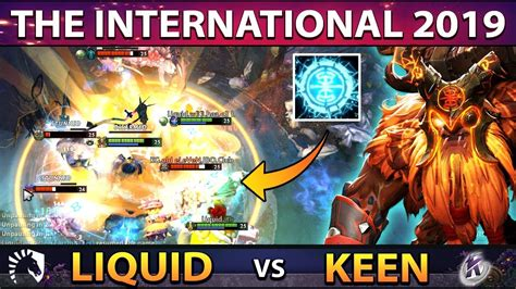 LIQUID vs KEEN - Miracle Carry Earthshaker Player