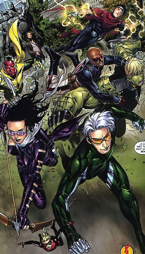 Young Avengers - Marvel Comics - Team profile and details