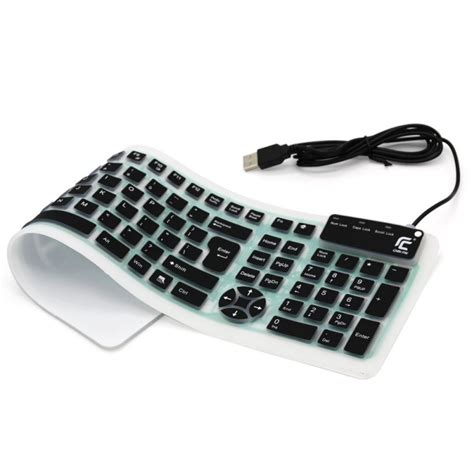 Silicone Keyboard - Wired USB Silicone Keyboard