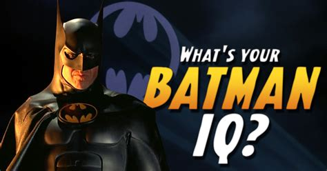 What's Your Batman IQ? | IntelliQuiz