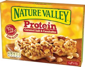 Protein Caramel Salé & Cacahuètes - Nature Valley France