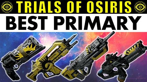 Destiny: BEST Trials of Osiris PRIMARY! | Are Year 2