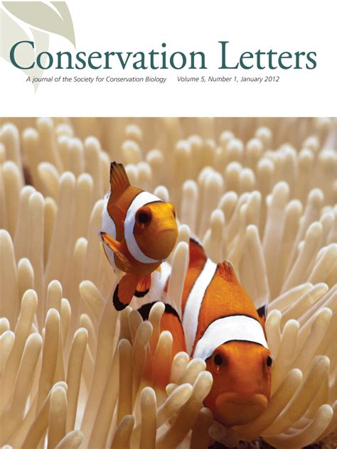 Society for Conservation Biology | Conservation Letters