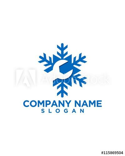 heating and air conditioning logo design 05 - Buy this