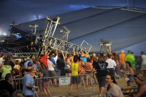 4 killed in Indianapolis as wind rips stage rigging at