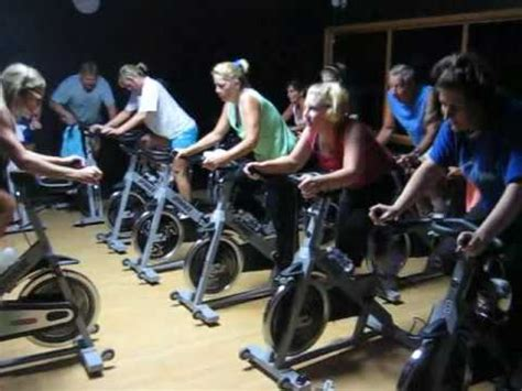 Cycle Group Class @ Southwest Family YMCA - YouTube