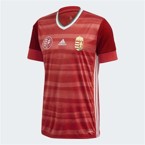Hongrie domicile maillot 2020-2021 - Maillots-Football