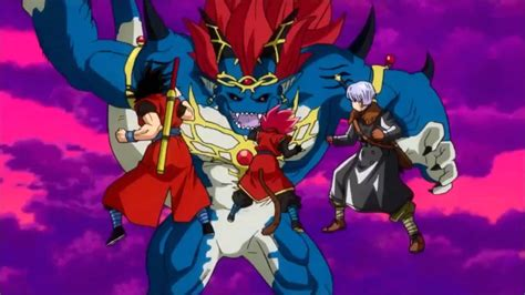 Dragon Ball Heroes GDM10 Opening Trailer Demigra's forme