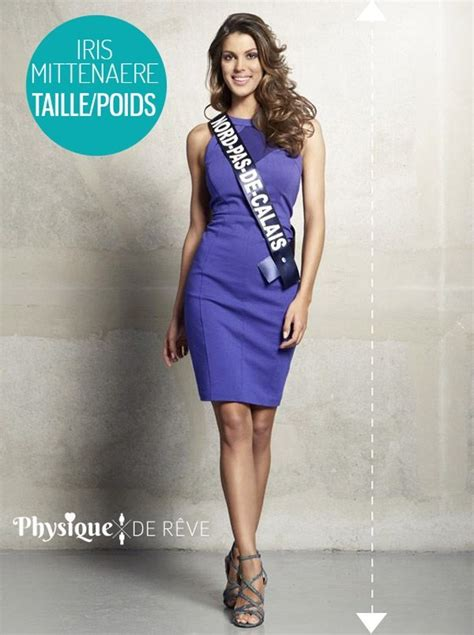 Iris-Mittenaere-miss-france-2015-taille-poids   Physique