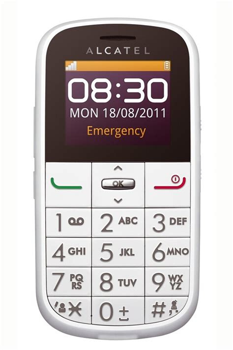 Smartphone Alcatel ONE TOUCH 282 BLANC (3594939) | Darty
