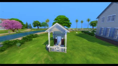 The Sims 4 House Building 2x3 Tiny House Full objects