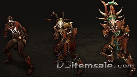 The Diablo 3 items which Witch Doctor can use in Diablo 3