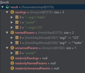 java - Javafx Named Parameters with Quotes/Spaces from