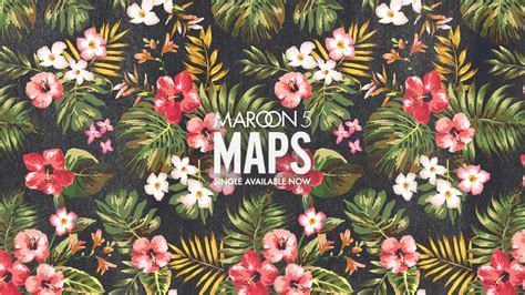Maroon 5 Maps New Single Available Wallpaper Wallpaper