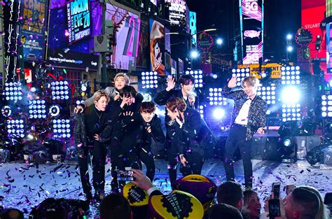 BTS Performs at New Year's Rockin' Eve: Watch the K-Pop