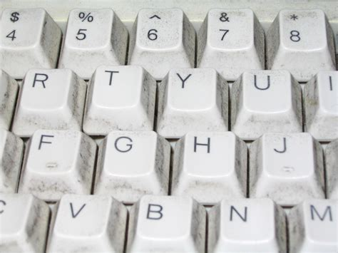 Free picture: standard, white, computer, keyboard, keys