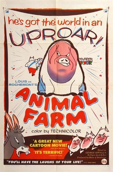 Animal Farm (1954) - Animated/Anime Films - Extreme Horror