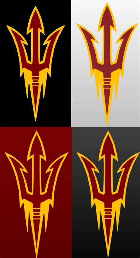 new asu logo by DaNoTomorrow on DeviantArt