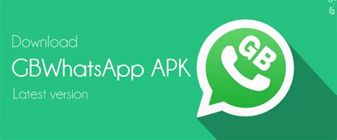 GBWhatsApp APK Download Latest Version v7