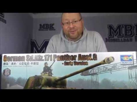 MBK packt aus #075 - 1:16 German Panther G early