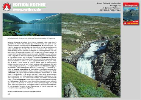 Norway South - Hiking guide Rother : 53 walks