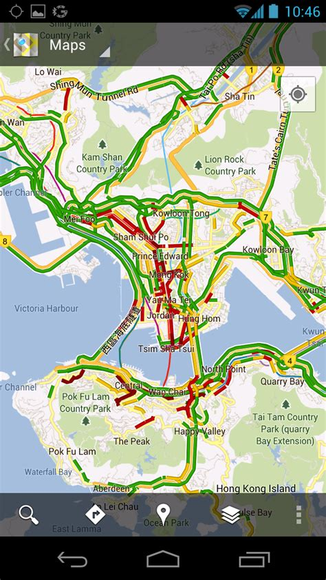 Google Lat Long: Get Traffic Conditions in Norway, New
