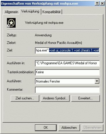 Medal of Honor - Pacific Assault - Cheats für PC