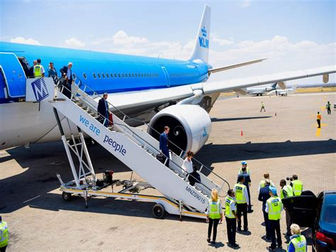 Namibia Airports Company - KLM Royal Dutch Airlines Opens