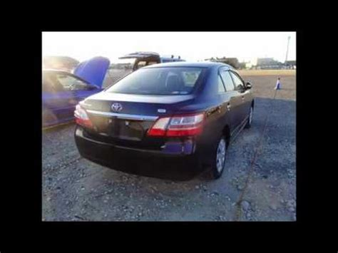 Used Toyota Premio For Sale SBT Japan - YouTube