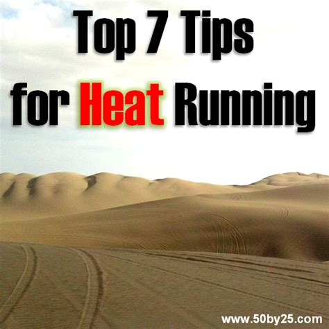 Top Seven Tips for Running in the Heat