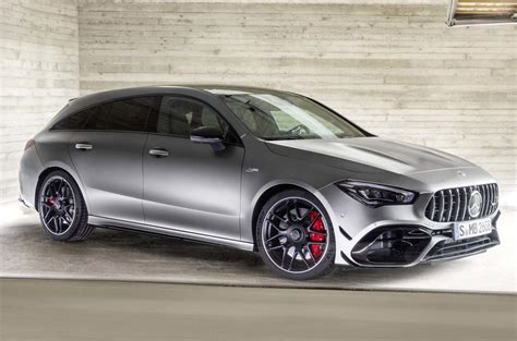 New Mercedes-AMG CLA 45 S Shooting Brake arrives with