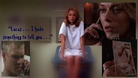 Peyton telling Lucas that she was Pregnant | One tree hill